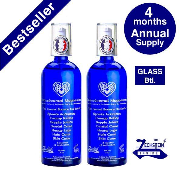 Transdermal Magnesium Annual Supply